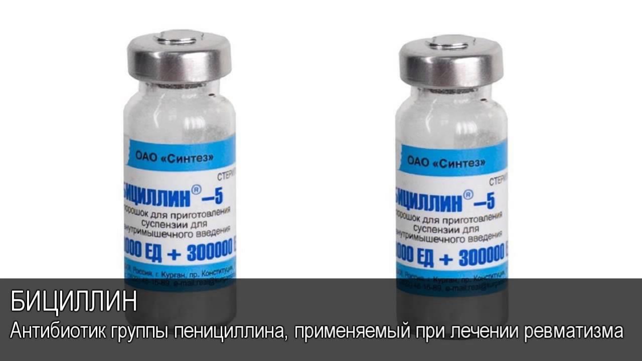 Бициллин 5 для животных инструкция