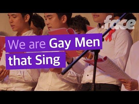 Korean Gay Choir which sings what gay life is like in Korea