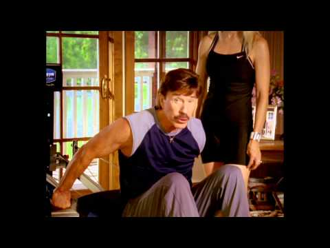 Chuck and Gena Norris - Total Gym Morning Exercise Routine