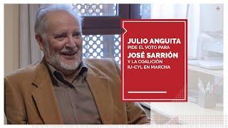 Anguita pide el voto para Sarrión