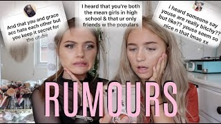 ADDRESSING RUMOURS AND ASSUMPTIONS ABOUT US......