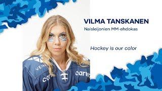 Naisten MM-ehdokkaat esittäytyvät - Hyökkääjä Vilma Tanskanen