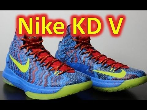 Kd 5 Christmas On Feet Nike KD V Christmas - ...
