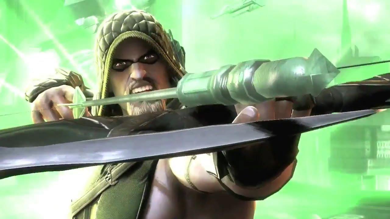 Injustice Gods Among Us Green Arrow Trailer PS3 XBOX360 WiiU HD