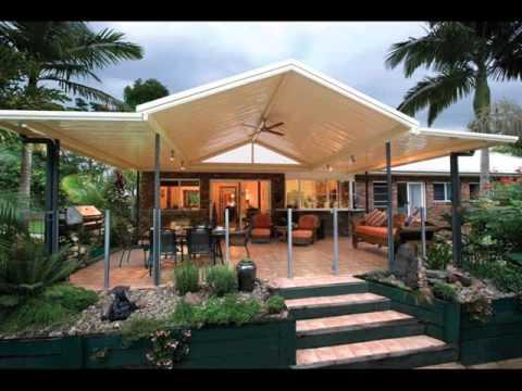 Modern Pergola Design For Garden - YouTube