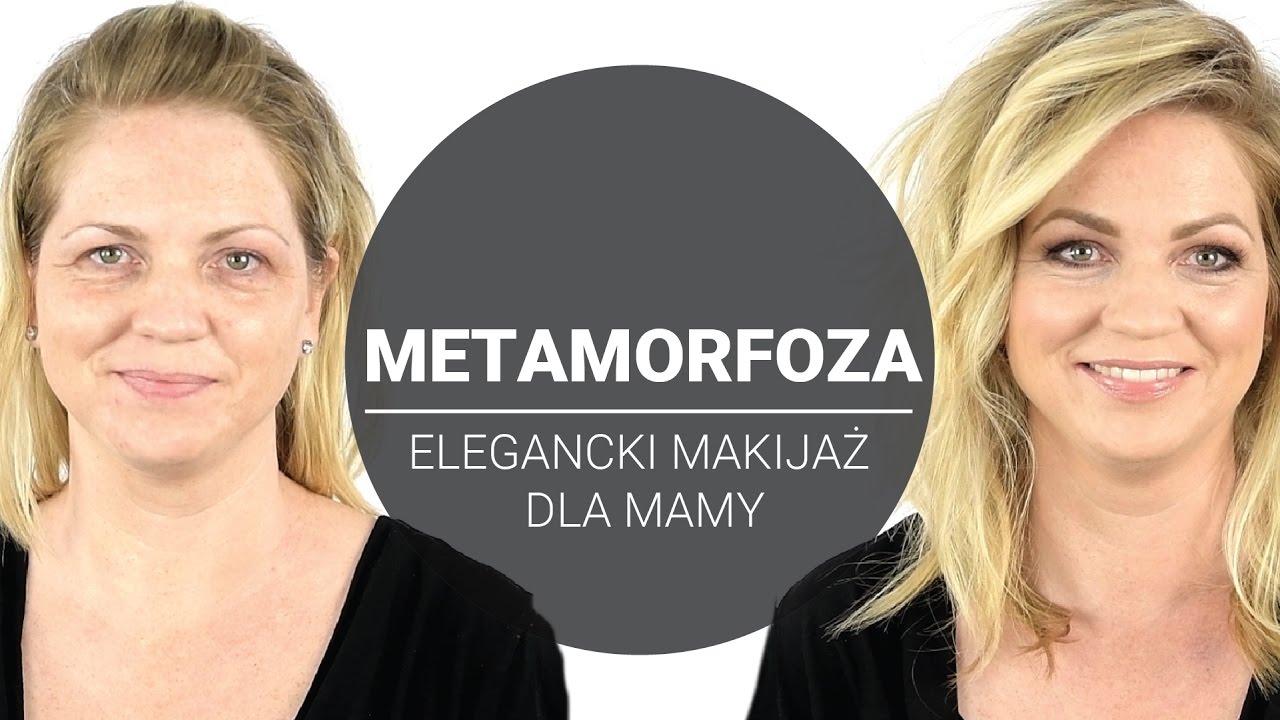 f966b9d186 Elegancji makijaż dla Mamy  Piękny makijaż dla blond mamy - YouTube