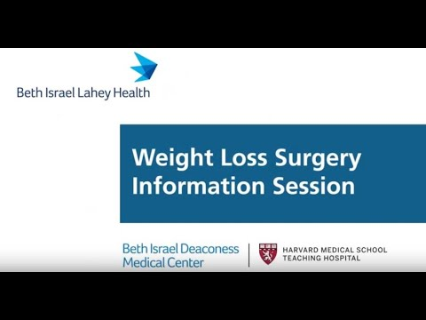 BIDMC Weight Loss Surgery Online Information Session