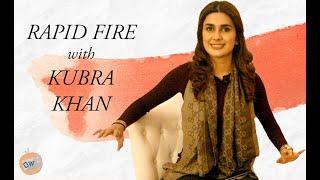 RAPID FIRE with KUBRA KHAN | on Ahad Raza Mir | Hamza Ali Abbasi | Sajal Aly | Orange Wall TV