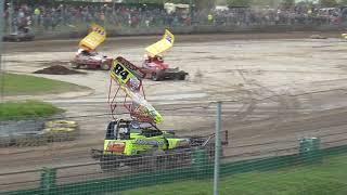 Brisca F1 Stock Car Racing- Northampton Shaleway 18.5.2019 Heat 2