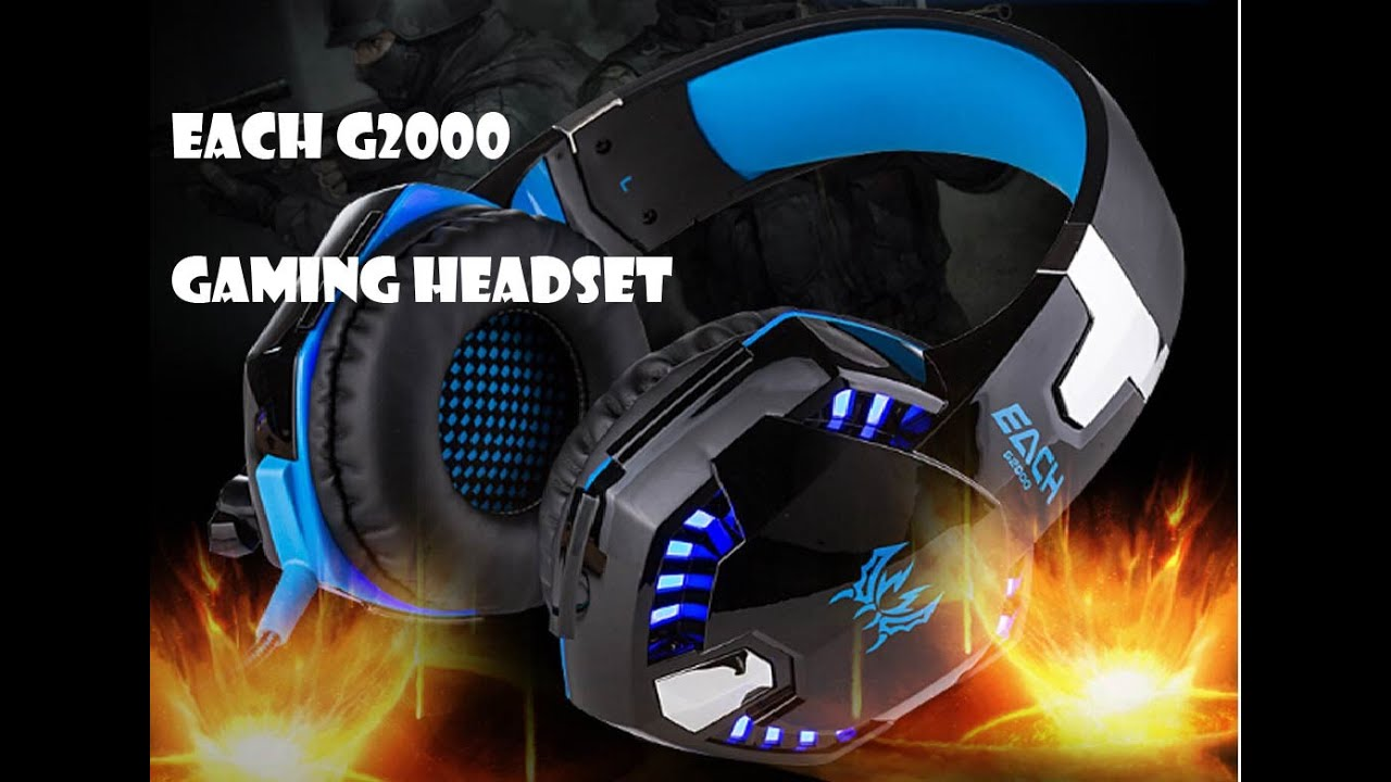 EACH G2000 Gaming Headset Review - YouTube 2f2ddf95e071a