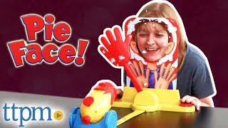 Pie Face Cannon Game Challenge - Party Game Review | Hasbro Toys & Games