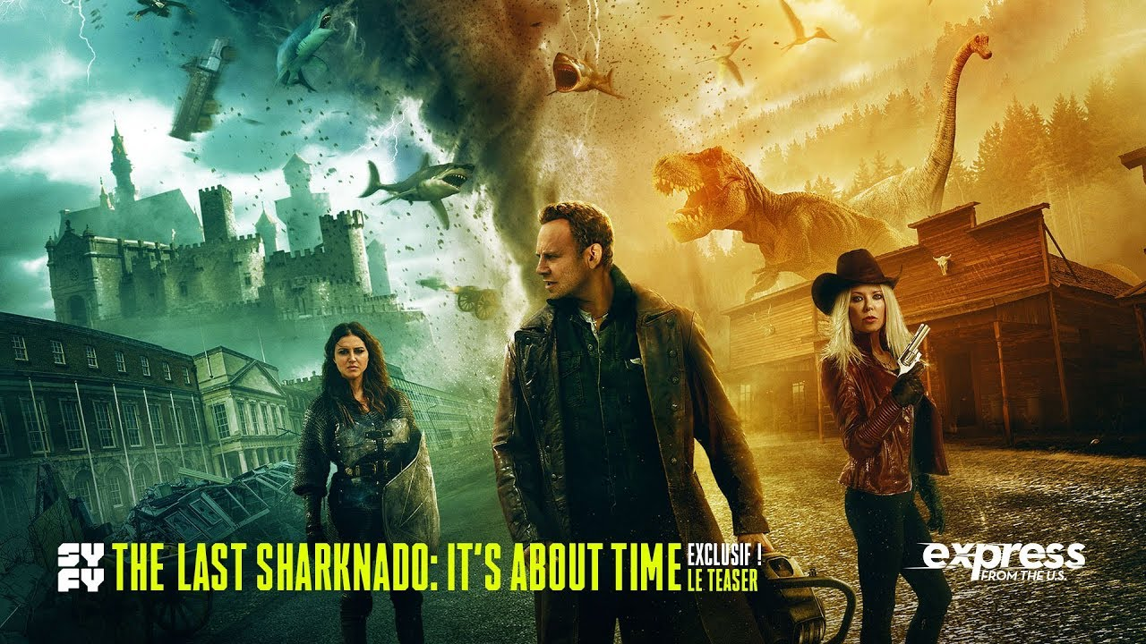 The Last Sharknado: It's About Time, le teaser vidéo