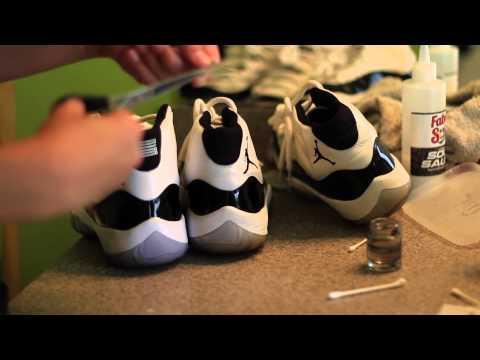 Full Restoration - Jordan 11 Concord (Time Lapse) & On-Foot