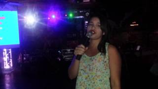Layde Ledezma Te quedo Grande la Yegua Parrita Vaquero Camp Nac Karaoke 2015.