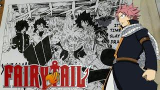 Drawing Fairytail Manga