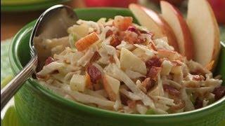 Apple Bacon Coleslaw