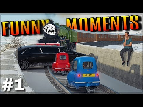 FORZA HORIZON 4 | EPIC STUNTS, WINS/FAILS & FUNNY MOMENTS #1 thumbnail