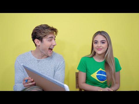 BRAZILIAN BOYFRIEND TEACHES ME PORTUGUESE   MEU NAMORADO BRASILEIRO ME ENSINA PORTUGUES (legendado)