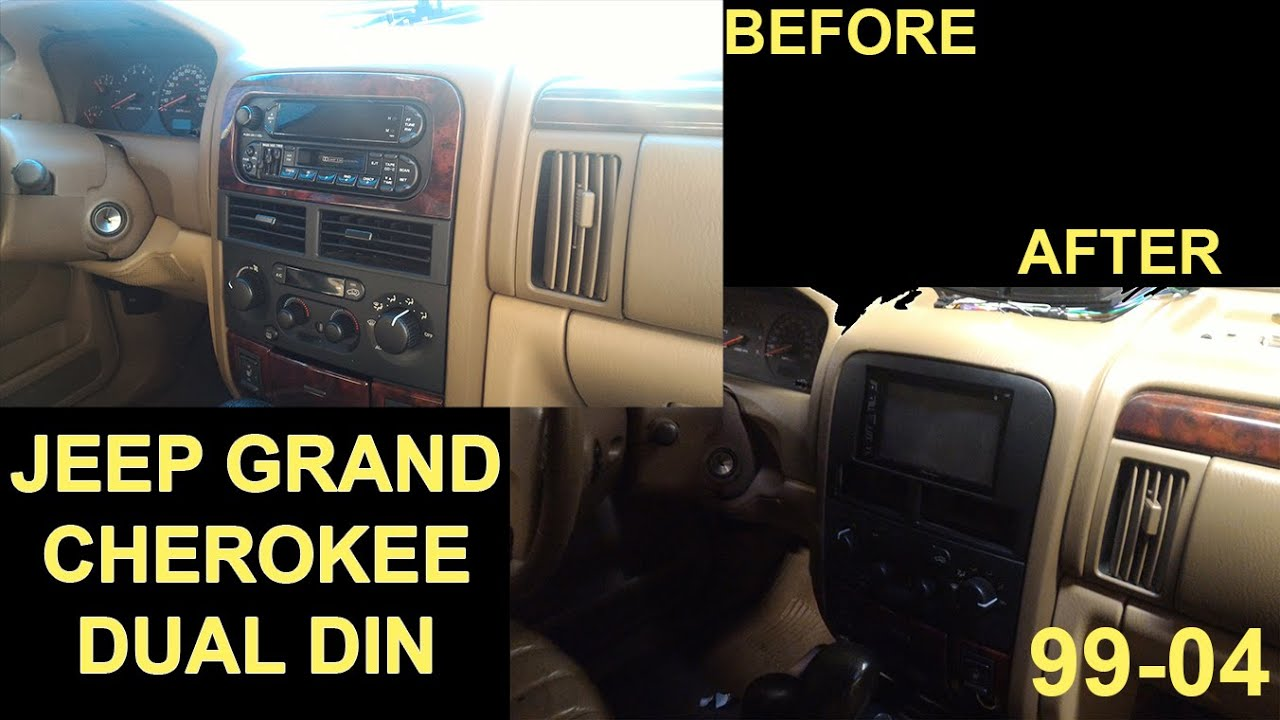 1999 2004 Jeep Grand Cherokee Dual Din Touchscreen Installation Tips Xhdr6435 Wire Harness