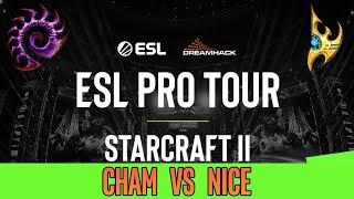 Cham vs Nice [ZvP] EPT ESL Pro Tournament Open Cup - Starcraft 2