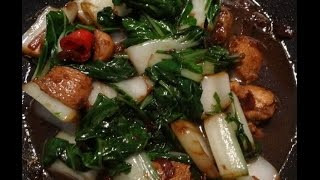 """Chinese Kip met Paksoi in Zoete Ketjap Recept"" ""Chinese Recepten"""