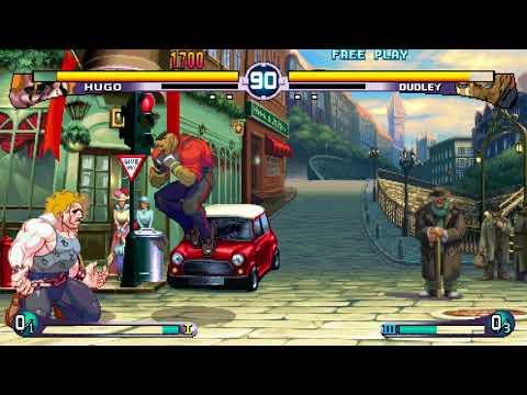 Street Fighter III 2nd Impact - Widescreen Mode Hugo Ultimate Throw