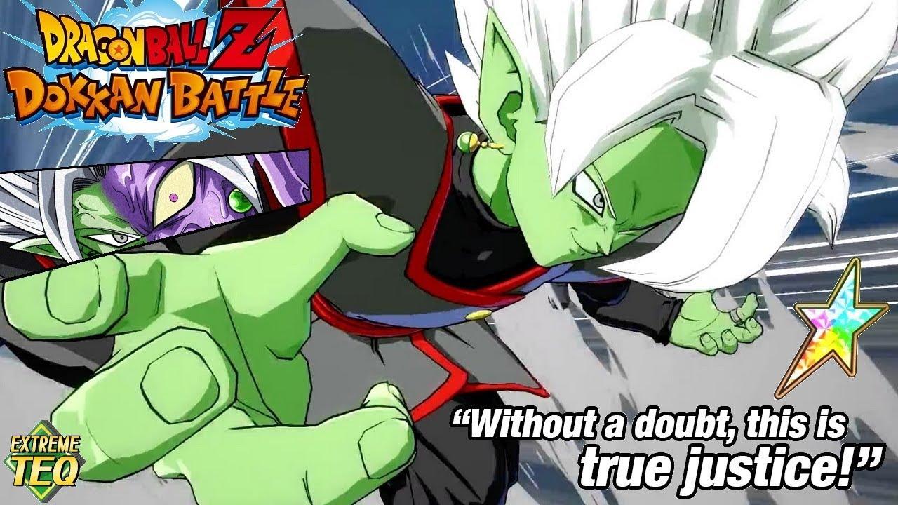 fighterz hype rainbow merged fusion zamasu showcase dbz dokkan