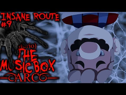 MARIO THE MUSIC BOX - ARC - Part 9 - DISGUSTING SPIDERS EAT MARIO ALIVE! | Insane Route