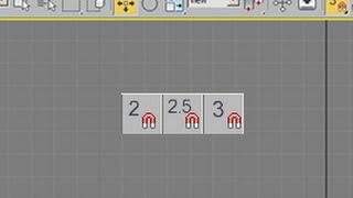 3ds Max Tutorial:  2D Snap, 2.5D Snap, 3D Snap