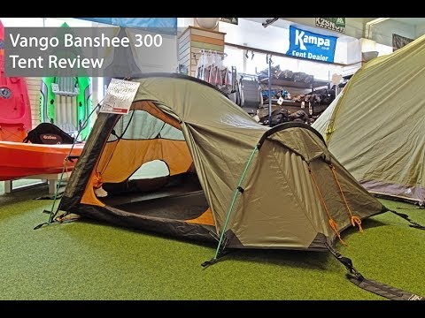& Vango Banshee 300 Tent Review - YouTube