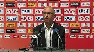 Conf de presse Nancy - Brest : Landry Chauvin et Jean Fernandez / 2012-13