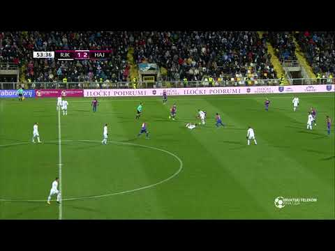 Rijeka - Hajduk 1:2 - 18. kolo (2017./2018.)