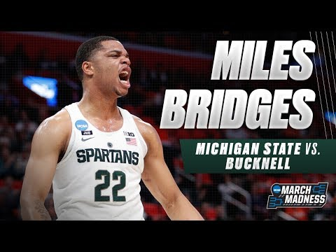 Miles Bridges shines in Michigan State\'s win over Bucknell