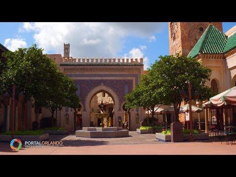 [4K] Morocco Pavilion | Epcot