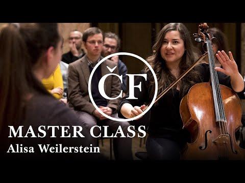 Alisa Weilerstein: master class (Česká filharmonie / Czech Philharmonic)