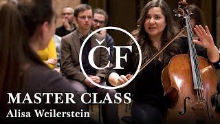 Master class: Alisa Weilerstein učí hrát na violoncello