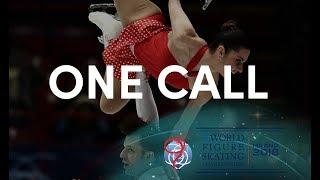 One call before a big skate? #WorldFigure - Milano 2018