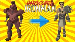 Hardcore Ironman #1 - From Nothing to EVERYTHING | Runescape 2007