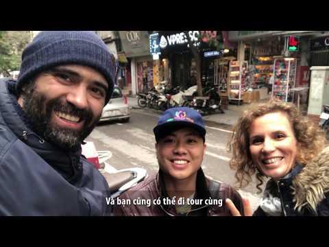 Trải nghiệm dẫn tour khách nước ngoài cùng Hanoi Free Walking Tours