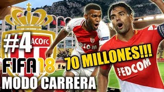 €70 MILLONES POR MI JUGADOR!!! - FIFA 18 Monaco Modo Carrera