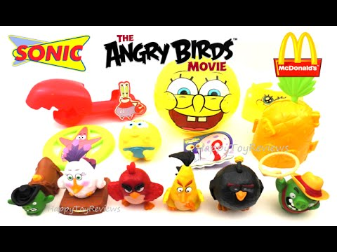 2016 Sonic Drive In Next Kids Meal Toys Spongebob Squarepants Angry