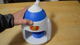 Jelly Belly Manual Ice Snow Cone Maker Shaver Review