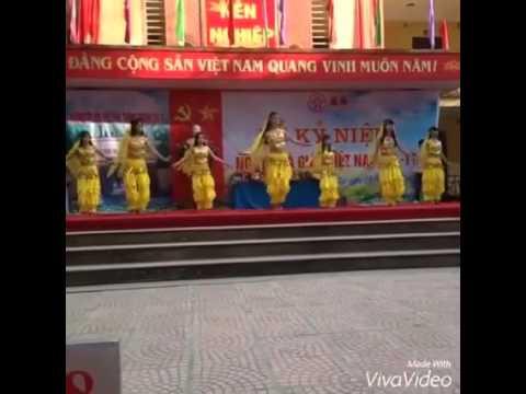 Văn nghệ 20/11/2015 Trường THPT Thanh Oai B Lớp 12a10