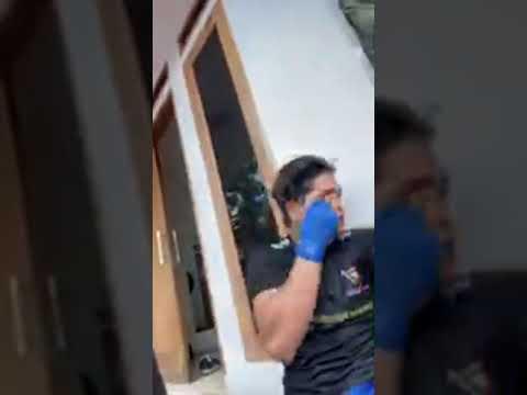 MENJELANG PERTANDINGAN MMA ONE PRIDE INDONESIA:JEKA A SARAGIB LATIHAN