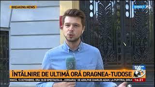 Întâlnire de ultimă oră Dragnea-Tudose, chiar înainte de CEx-ul PSD