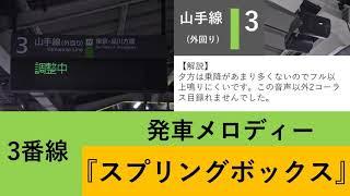 【自放音源】秋葉原駅 接近放送 発車メロディー