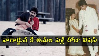 Amala shares an Adorable photo to wish Nagarjuna on their wedding anniversary | Gup Chup Masthi