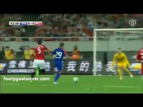 Shanghai Senhua vs Manchester United (0-1) Club Friendly 25-07-12