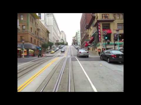 San Francisco Iconic California Cable car
