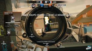 Repeat youtube video Ligue Argent : FFT vs SGR6, Canal [Rediffusion 22/02/2017]
